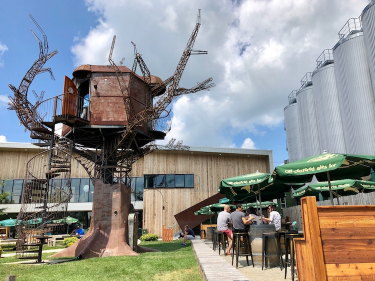 Steampunk Tree House at Dogfish Head Brewery