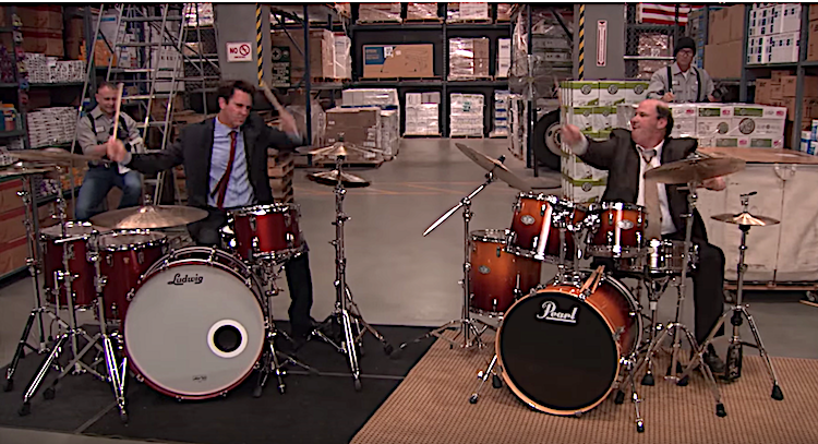 'The Mad Drummer' Who Was at the Wrong Gig Decimates Kevin in a Drum Battle on 'The Office'