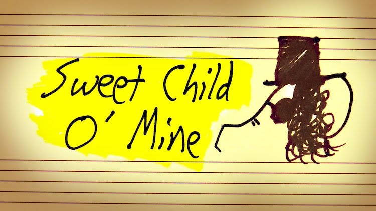 How the Guns N' Roses Song 'Sweet Child O' Mine' Is a Melody In Search of Real Resolution