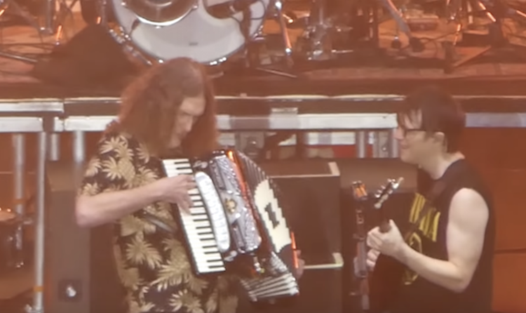 'Weird Al' Yankovic Joins Weezer Onstage in Los Angeles for the Much Requested Toto Song 'Africa'