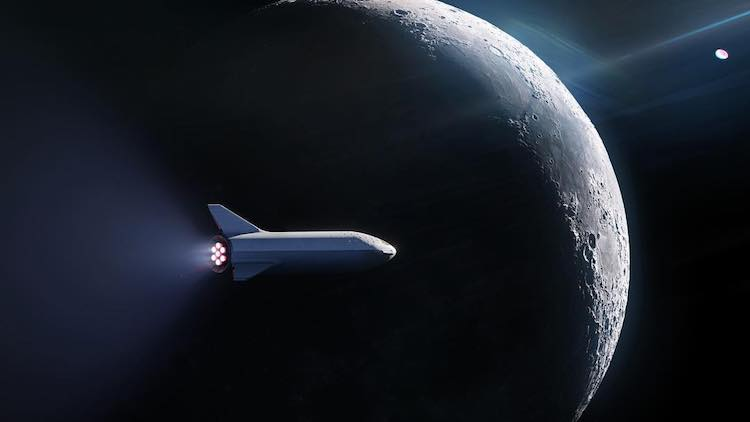 Japanese Art Collector Named As the First Private Passenger to Fly Around the Moon on the SpaceX BFR