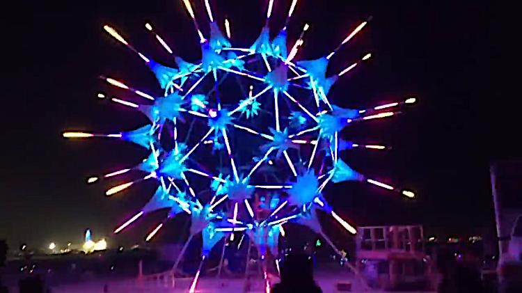 Burning Man Hyperlapse 2018