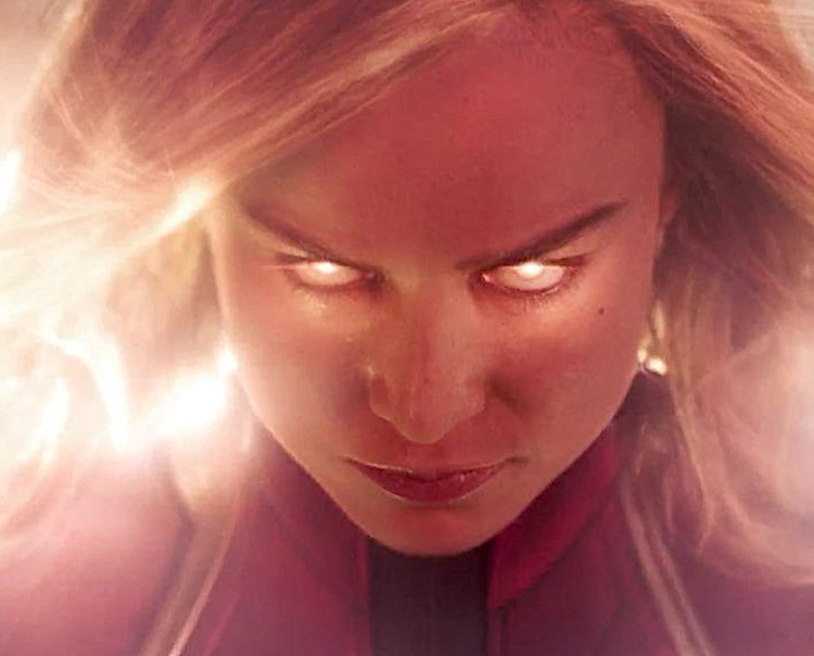 Carol Danvers Crashes Back to Earth With Questions About Her Past in the First Trailer for 'Captain Marvel'