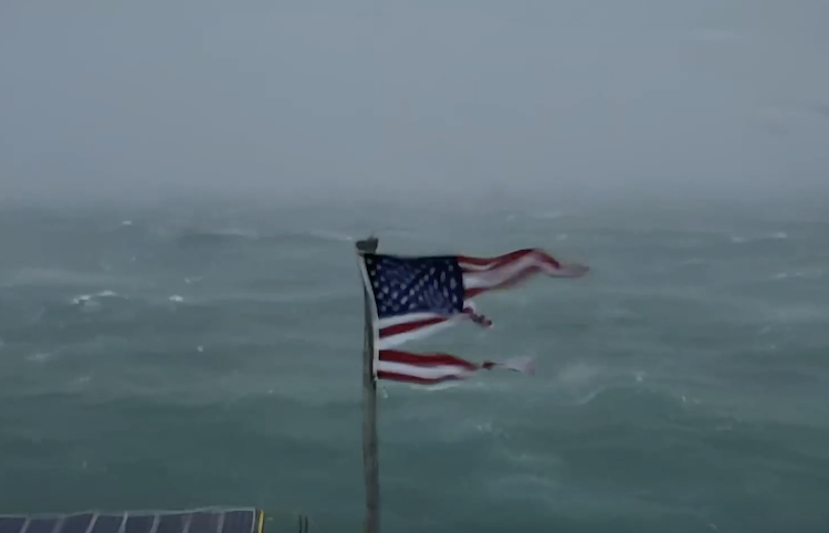 A Stunning Live Stream of the Approaching Path of Hurricane Florence Near Cape Fear, North Carolina