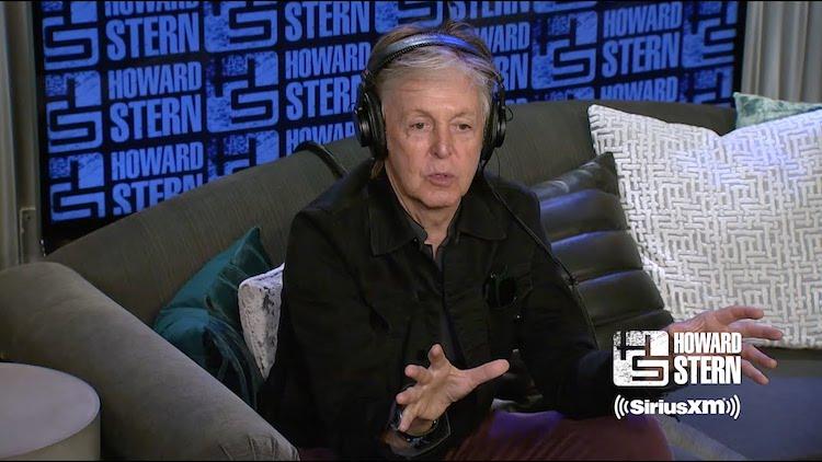 Paul McCartney Howard Stern