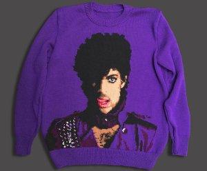Purple Prince Sweater