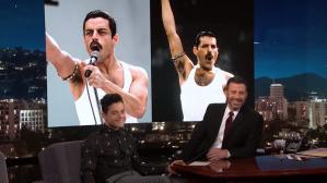Rami Malek Jimmy Kimmel Freddie Mercury
