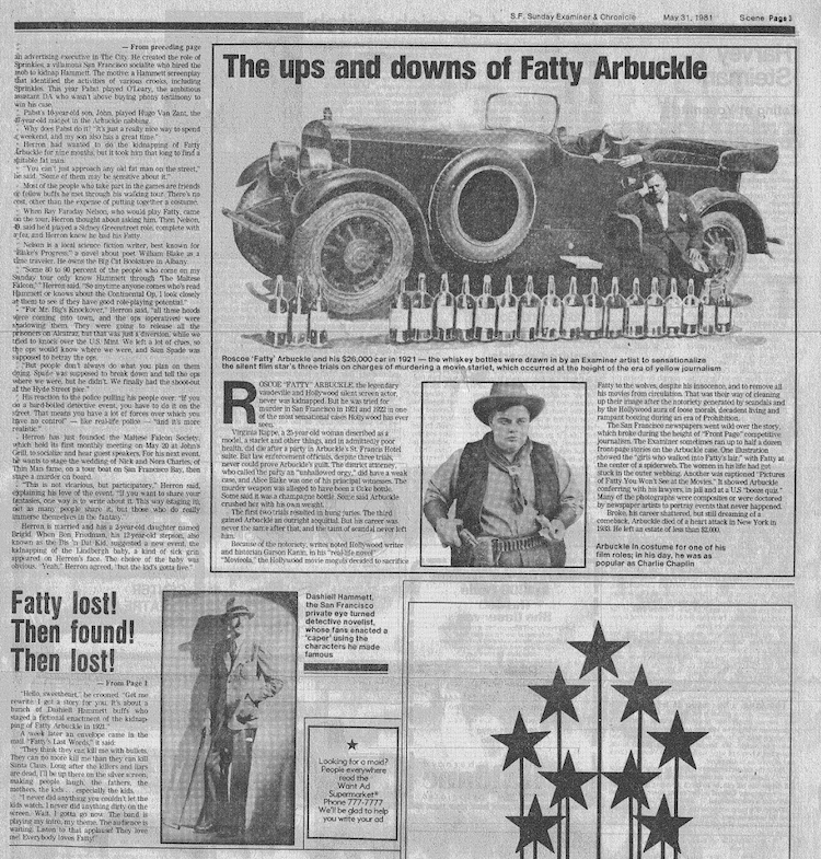 The Ups and Downs of Fatty Arbuckle