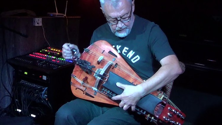 Andrey Vinogradov hurdy gurdy - Gifted Hurdy-Gurdy Musician Performs a Heartbreaking Solo That Sounds Like It's Being Performed on a Violin