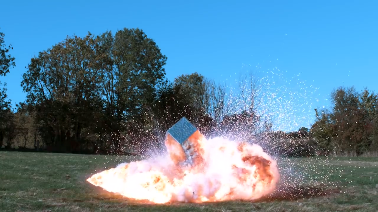 Tom Scott Explains Why the Manholes of London Explode by Creating a Big Explosion of His Own