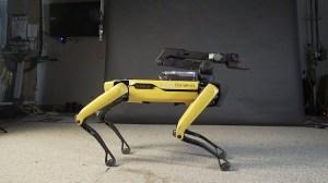 Boston Dynamics Spot Dancing