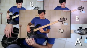 Chromatic Scale Bass Solo