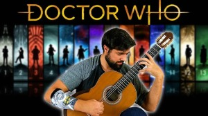 Doctor Who Classical Guitar