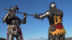 Fighting in 14th Century Armor
