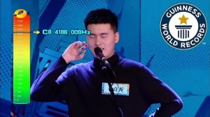 Highest Vocal Note Male GWR