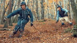 Leaf Skiing