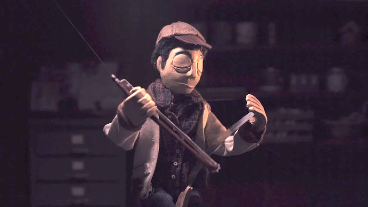 A Marionette Named Marv Goes About His Quiet Life in the Music Video for the Kodacrome Song 'Oh You Two'