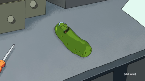 Pickle Rick Laughing