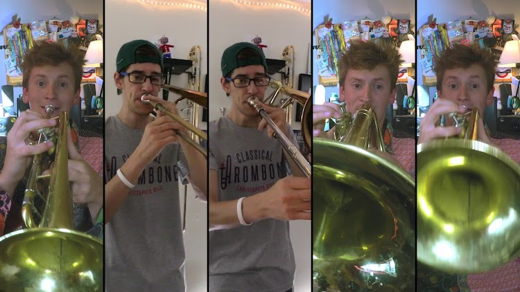 Fellow Horn Players Christopher Bill and Seb Skelly Pair Up to Cover the Classic ELO Song 'Mr. Blue Sky'