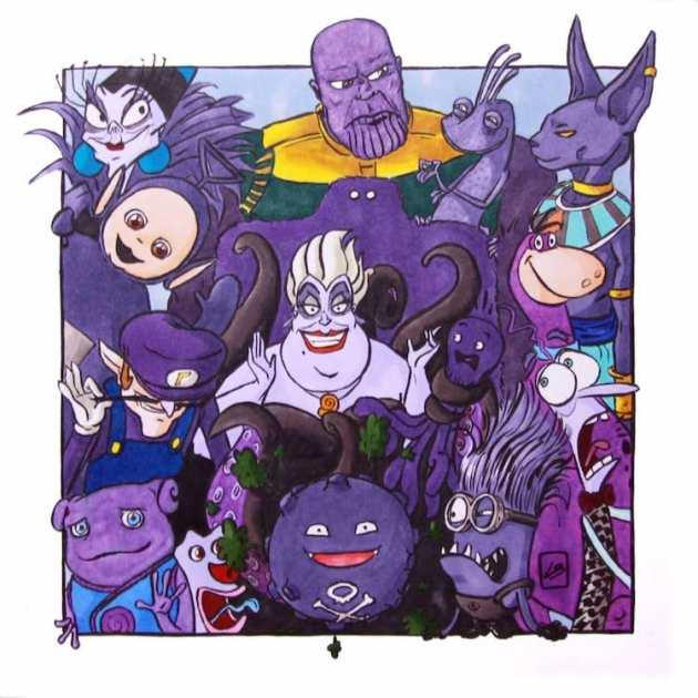 Team Purple Illustrations