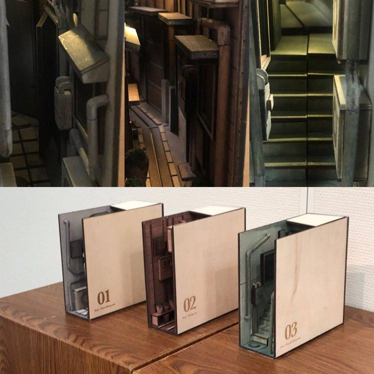 Alley Bookshelf Inserts