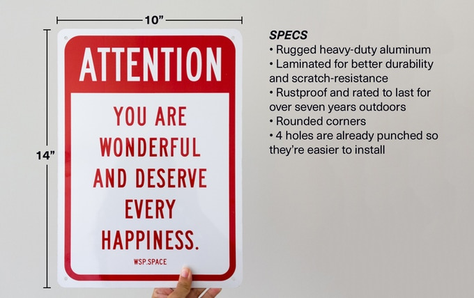 Attention You Are Wonderful