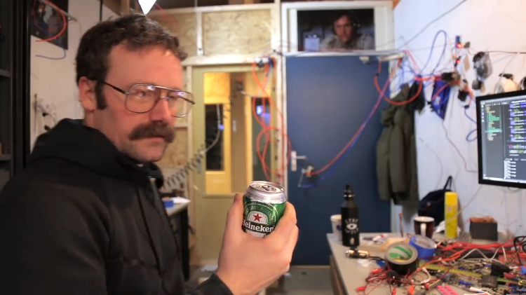 An Automated Voice Controlled Office Assistant That Turns On Lights, Tosses Beers and Opens Doors