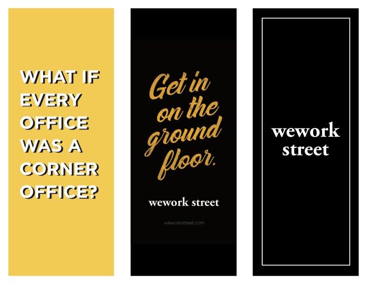 Brochure WeWork Street