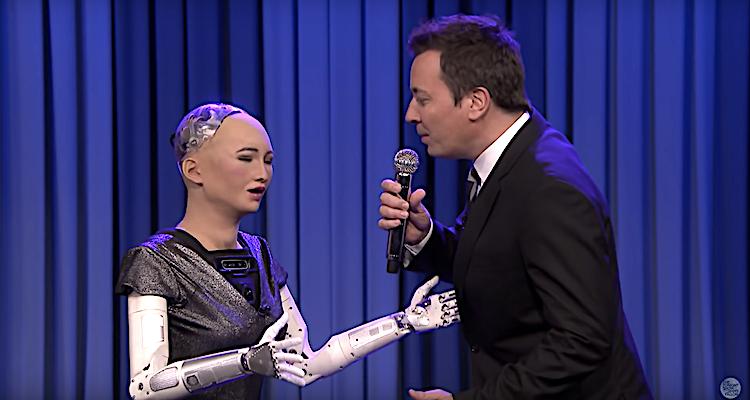 sophia robot show