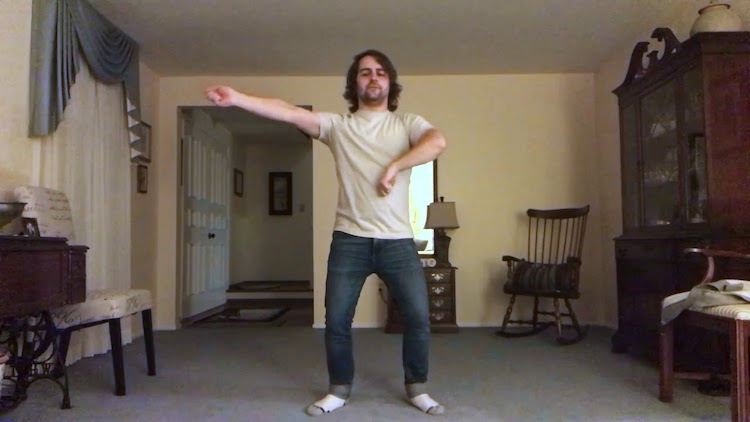 A Hilariously Descriptive Step-by-Step Tutorial Showing How to Dance to the 1980s SoftCell Song 'Tainted Love'
