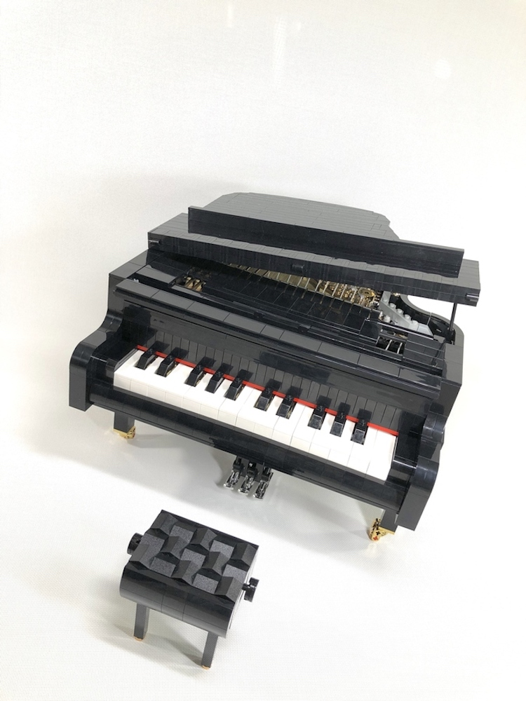 LEGO Concert Grand PIano With Bench