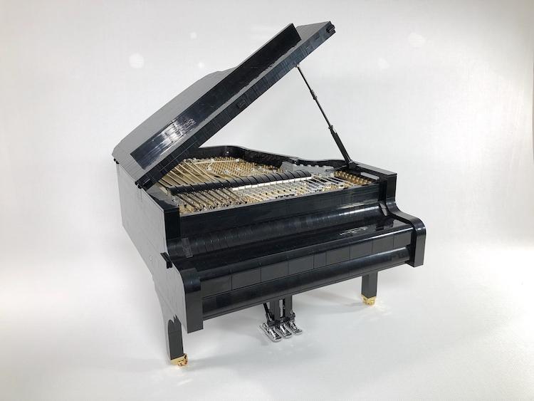 LEGO Concert Grand Piano