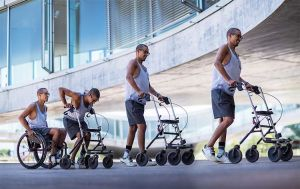Man With Spinal Injury Walks Again