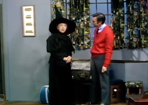 Mister Rogers Margaret Hamilton Wicked Witch of West
