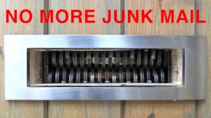 No More Junk Mail Colin Furze Shredder