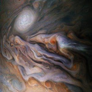 Juno Jupiter Clouds NASA White Oval