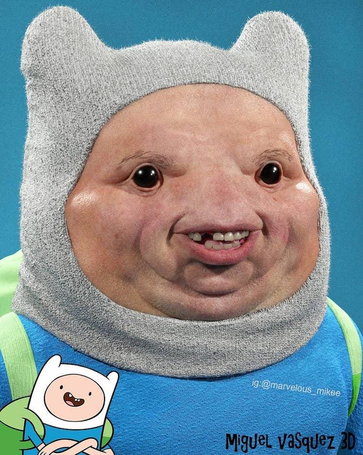 A Grotesque Real Life Version of Adventure Time's Finn