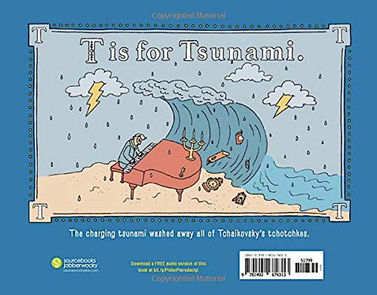 T is for Tsunami