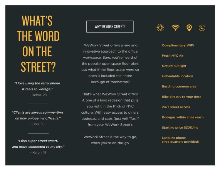Why WeWork Street