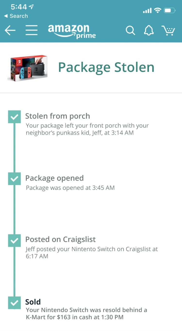 Amazon Tracking