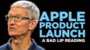 Apple Product Launch Bad Lip Reading