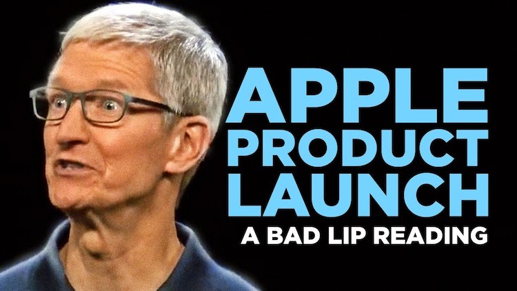 Apple Product Launch Bad Lip Reading