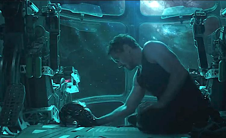 Avengers Endgame Robert Downey Iron Man Thanos