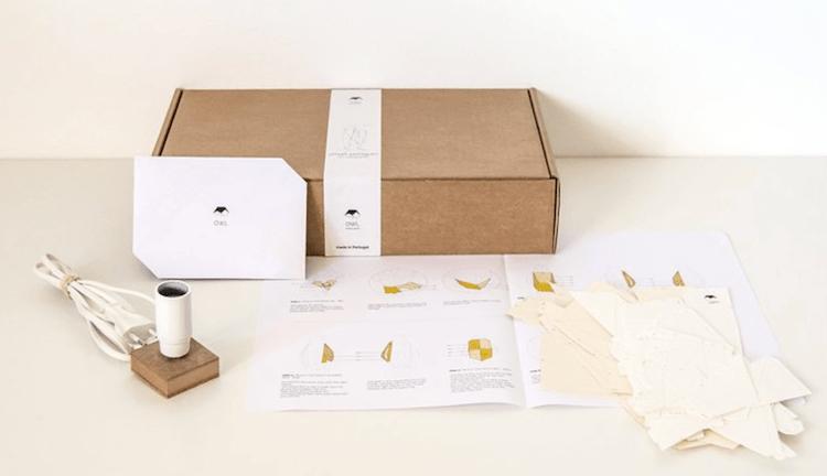 DIY Papercraft Lamps