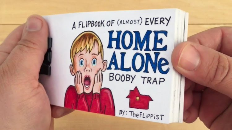 Flipbook Home Alone Booby Traps The Flippist