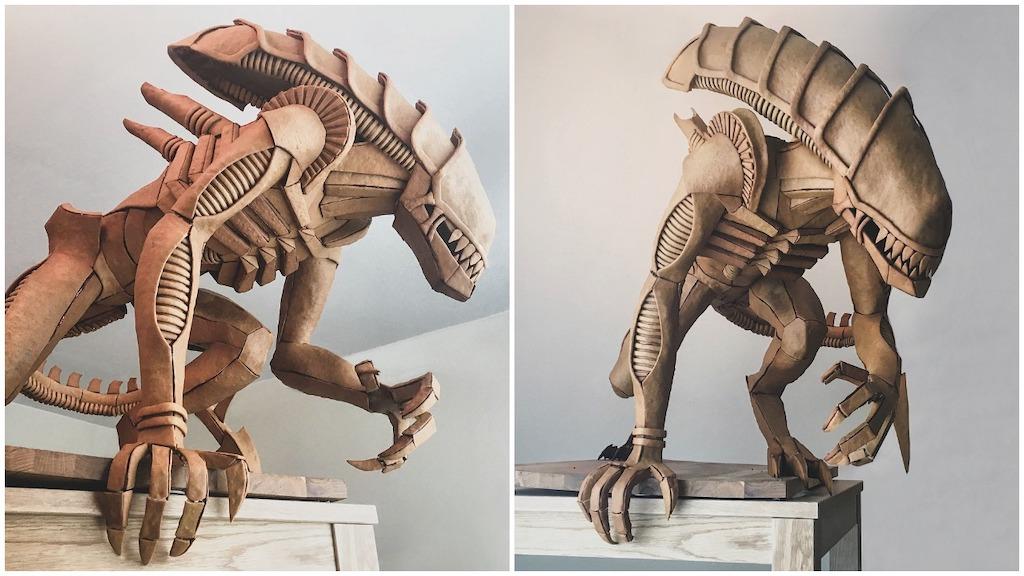 Gingerbread Alien Xenomorph