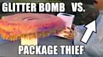 Glitter Bomb Vs Package Thief Mark Rober