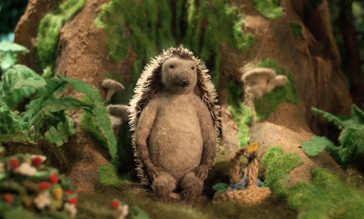 Hedgehog's Home Stop Motion Animation