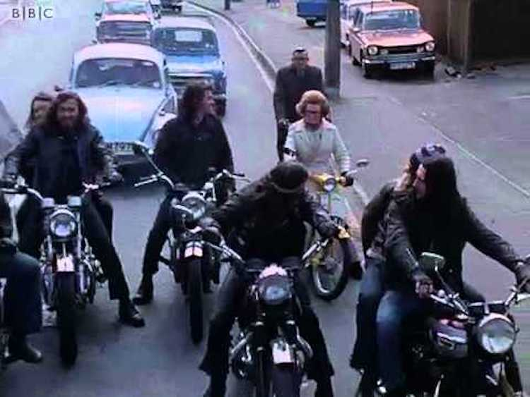 Hells Angels London 1973