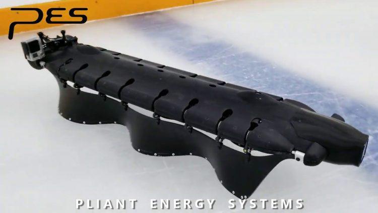 Ice Skating Legless Robot